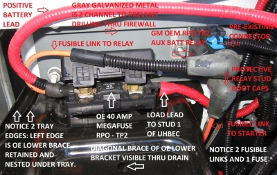 rv net open roads forum 2nd battery install in a gmt900 suburban rh rv net Chevy Engine Wiring Harness Chevy Engine Wiring Harness